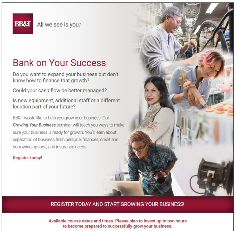 Lunch & Learn Hosted by BB&T