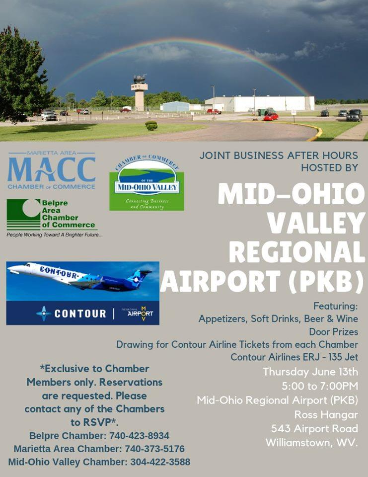 Business After Hours Hosted by the MOV Regional Airport