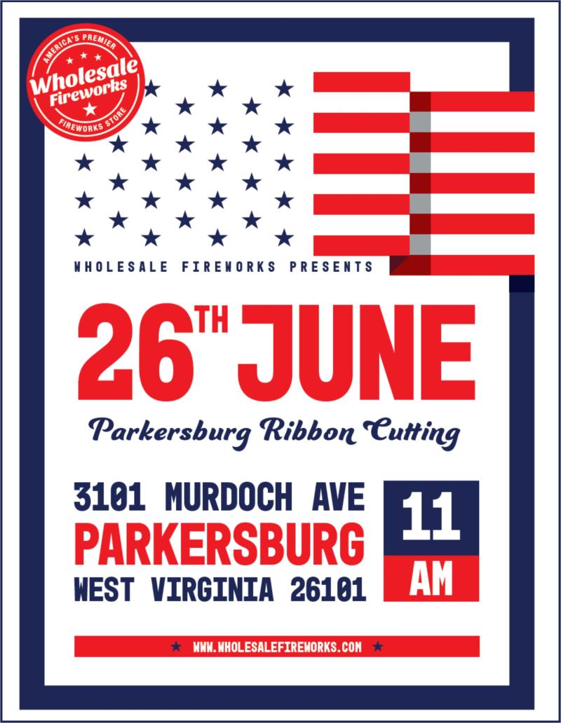 Ribbon Cutting for Wholesale Fireworks