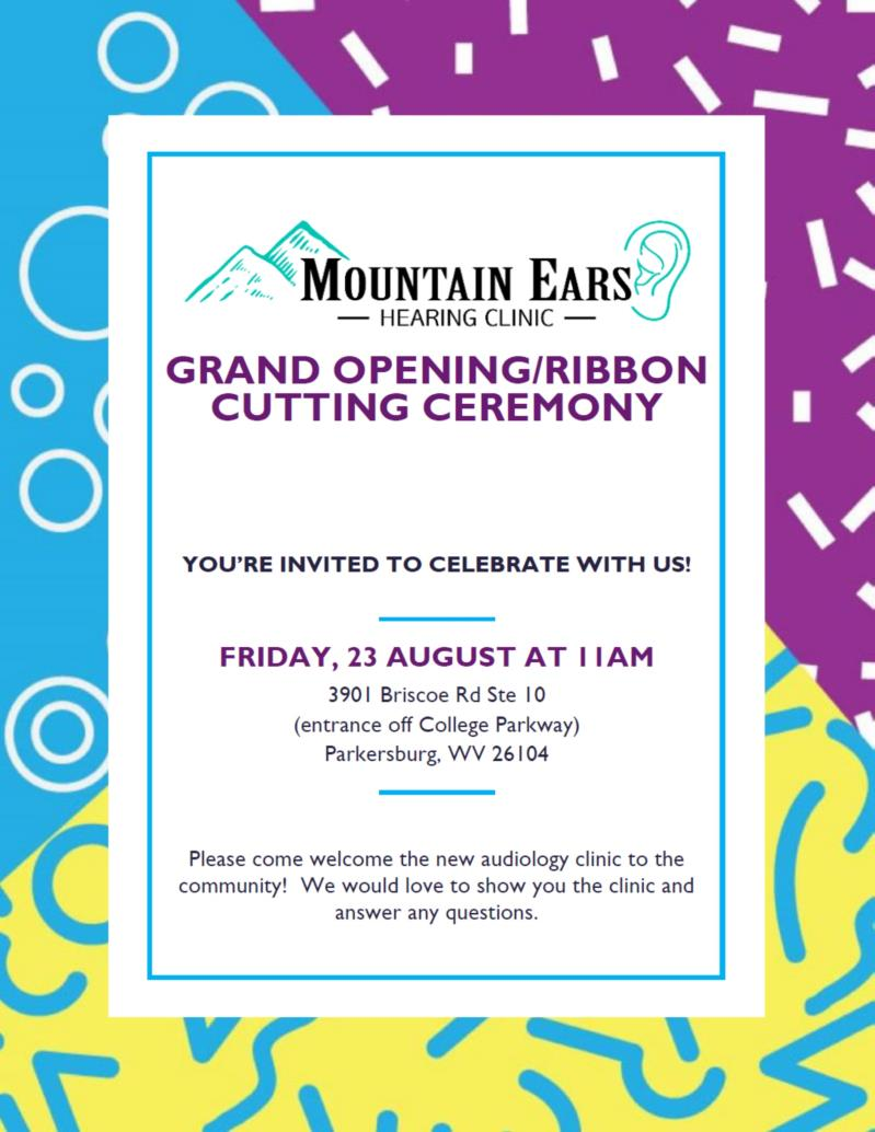 Ribbon Cutting for Mountain Ears Hearing Clinic