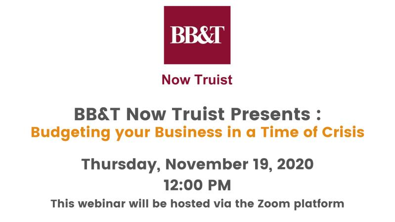 Virtual Webinar Hosted by BB&T now Truist